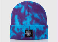 OFFICIAL Dyed Again Beanie (Purple / Blue)