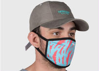 Face Mask Danamo Blue オフィシャル マスク