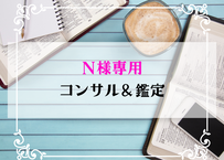 N様専用ページ~コンサル&鑑定~