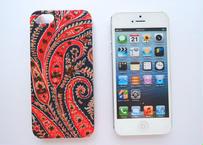 iPhoneSE/5sケース/フェリックスイザベラ・レッドネイビー