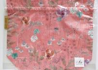 トラベル巾着大・イルマ・ピンク