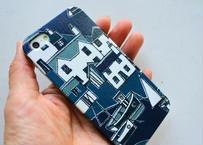 iPhoneSE/5sケース/クールコースト・ネイビー
