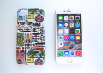 iPhone7ケース/フォゲットミーノット・パステル