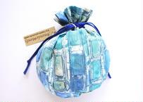 リバティキャンディ巾着・イアンローズ・ブルー
