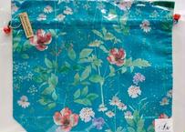 トラベル巾着大・イルマ・ブルーグリーン