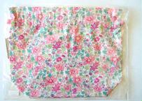 リバティトラベル巾着 アロハベッツィ ペールピンク
