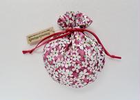リバティキャンディ巾着・ペタルウィッシュ・ピンク