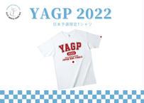 【予約販売】YAGP カレッジロゴTシャツ