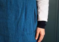 手紡ぎ手織りの腰巻き