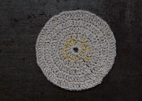 手織りの小敷物 星