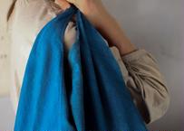 藍染の手縫い鞄