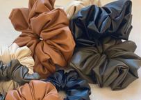 ⦅予約販売⦆POTETE vegan leather big chouchou