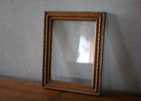 フランスアンティーク 額装 木製のフレーム ブロカント