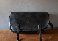 POSTES アンティーク 郵便配達員の古いレザーバッグ フランスアンティーク
