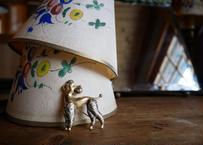 スペイン ビンテージ ブローチ dog