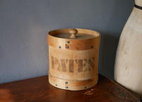 PATES 木製の入れ物 フランスアンティーク ビンテージ ブロカント