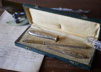 フランスアンティーク 文具セット ヤドリギ 宿り木