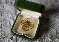 french brooch お花のブローチ フランスアンティーク