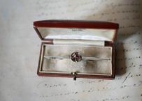 三つ葉のクローバー ブローチ FRANCE antique BROCANTE vintage