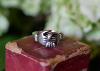 fede ring, sterling silver