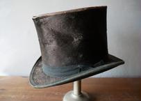 フランスアンティーク シルクハット 高帽