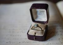 小さな花の指輪 フランスアンティーク vintage ブロカント