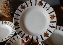在庫→1 Badonviller  chocolate plate