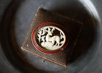 vintage brooch 【鹿の親子】
