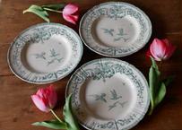 """GIEN,  """"Marie-Antoinette"""" plate"""