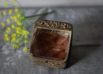 6.アンティーク ガラスのジュエリーボックス フランス ブロカント
