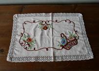 フランスアンティーク 刺繍 パニエ A