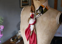 France・PARIS より ヴィンテージスカーフ イタリア製
