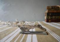 シルバー製 アニマル ナイフレスト 仏アンティーク ペリカン?