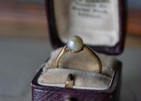 一粒パール フランスアンティーク 指輪 リング