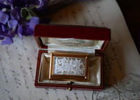 Lucite Brooch Edelwiss