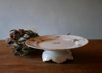 【ご予約 RESERVED】LIMOGES リモージュ ケーキスタンド コンポティエ フランスアンティーク