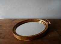 フランスアンティーク ミラー 鏡 ブロカント リボン