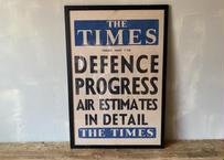 ザ・タイムス ポスター(壁掛け金具付き) S-257