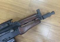 在庫品 KSC GBB AKS74U用ウッドハンドガード ウォルナット ツヤなし