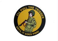Marp I'LL PULL THE TRIGGER sticker