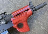 受注 KSC GBB AKS74U用サムホールハンドガード製作