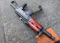 受注 次世代AKS74Uノーマルウッドハンドガード製作