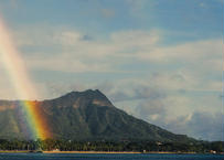 Diamond Head & Rainbow マット入(小)