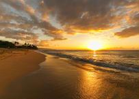 Sunset Beach Sunset  マット入(小)