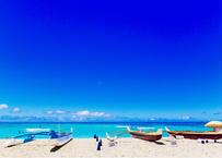 Sunny Day at Waikiki  フレーム入(特大)