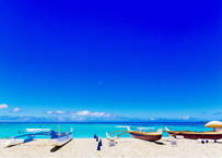 Sunny Day at Waikiki  マット入(中)