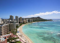 Waikiki Beach  フレーム入(特大)