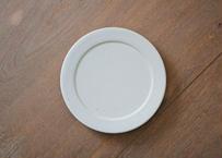 安01 : リム皿 5寸 BLUE GRAY