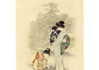 春汀 東京名所図絵 植物園