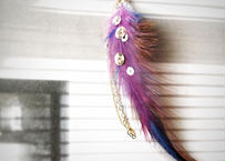 feather pierce(earring)